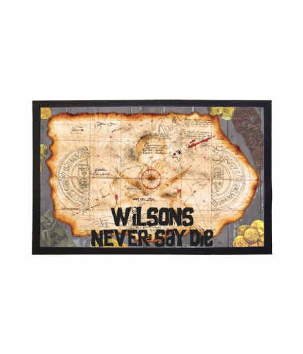 Goonies Inspired Personalised Never Say Die Doormat Welcome Mat